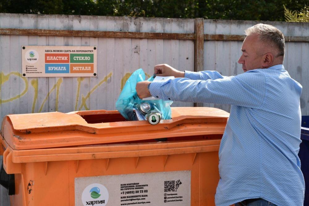Картинки раздельного сбора мусора